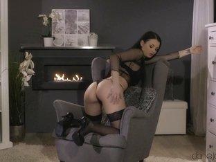 Amazing pornstar Celeste in Incredible Masturbation, Stockings sex scene