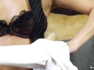Exotic pornstars Cindie Louu, Jennifer Vaughn in Hottest Babes, Blonde xxx scene