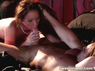 Hottest pornstar in Incredible HD, Spanking porn scene
