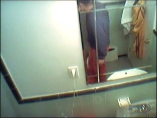 cute roomate caught in the bathroom 93