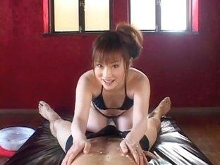 Incredible Japanese model Rika Sonohara in Horny Massage, Small Tits JAV clip