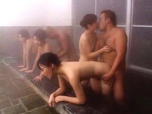 Fabulous Japanese model in Incredible Showers JAV scene