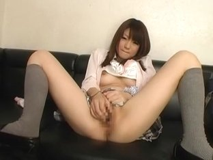 Crazy Japanese chick Fuwari in Amazing Handjobs, Fingering JAV clip
