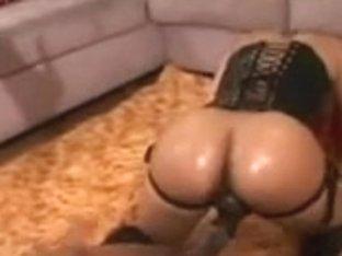 Carmen Hayes & Pinky Large Wazoo Thong On Lesbian Babes