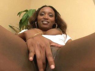 Nice blowjob by black prostitute Chris Strokes in interracial scene