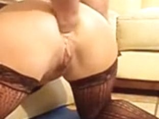 Wife Anal Fisting With Improvised
