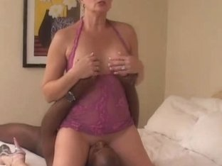 Tracy Licks.....Takes MrNuttz's 9 inch, large, darksome rod!!
