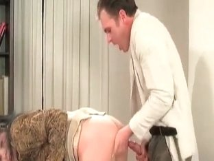 Hot mature slut office break