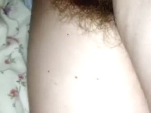Actually unshaved messy cleft of one of my girlfriend filmed closeup