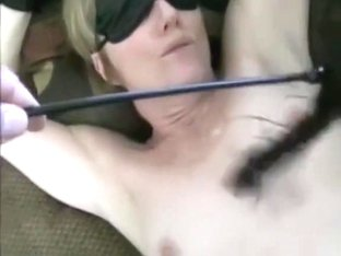 Blindfolded and spanked hard