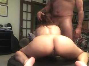 Fucking a fake tit milf and blasting a huge load on her ass