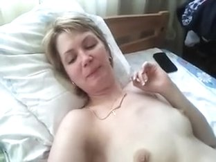 White hair lady's dick suck