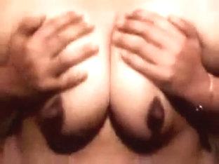 I reveal my huge bosoms on webcam