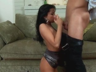 Amazing spicy brunette Tanner Mayes humped by Danny Mountain