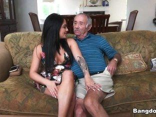 Horny pornstar Aria Rose in Best Oldie, Facial adult video