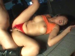 Amazing Japanese girl Nana Saeki in Best Big Tits, Car JAV movie