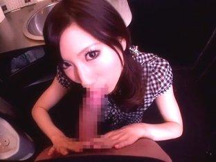 Amazing Japanese girl Yuki Fuwari in Fabulous pov, handjobs JAV movie