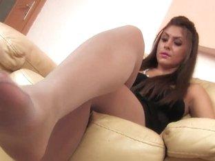 Nylon Feets 10