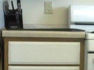 Non-Professional Couple Kitchen Sex Tape