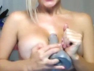 Busty Blonde Hottie Live Adult Chat