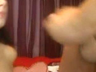 Webcam blowjob with facial cumshot
