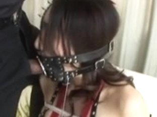 outlandish fetish tied and bizarre throat tied