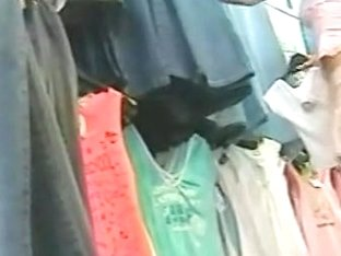 Sexy chick gets shot on a voyeur's hidden cam
