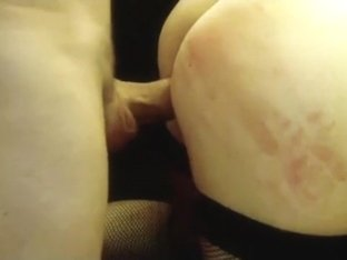 Restrained wife screwed and cum on