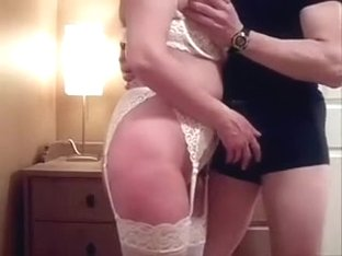 I am giving a dude a blowjob in my amateur porn video