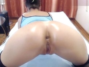 Sexy_mary: a ball and a big dildo in the ass