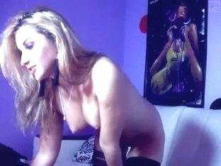 Naked lap dance via webcam