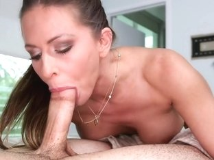 A porn star that loves cock in her mouth...