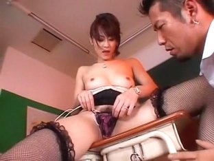 Incredible Japanese whore Natsumi Horiguchi in Fabulous Masturbation/Onanii, Stockings/Pansuto JAV.