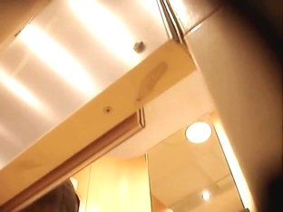 Video from dressing room cam that recorded amateur legs