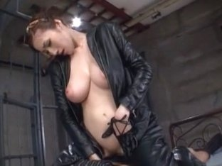 Best Japanese girl Julia in Hottest Doggy Style, Latex JAV movie