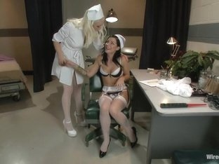 Horny fisting, lesbian adult movie with crazy pornstars Tori Lux and Lorelei Lee from Wiredpussy