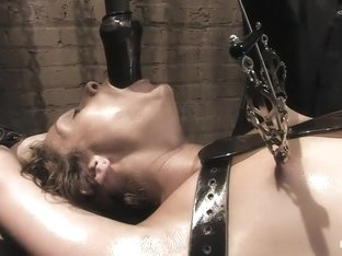 Dirty fucking girl.... TEN is pushed beyond her clitoral limits