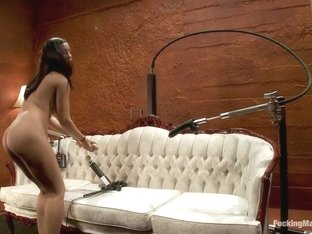 Exotic fetish, squirting porn clip with amazing pornstar Isis Love from Fuckingmachines