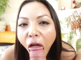 Adriana Luna tit wank and blowjob