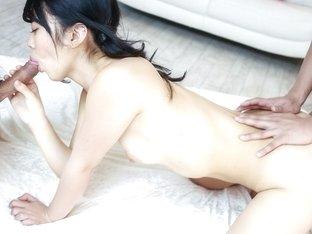 Best Japanese slut Hikaru Morikawa in Crazy JAV uncensored Blowjob video