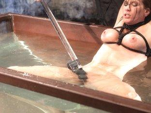 Horny fetish xxx clip with crazy pornstar Ariel X from Waterbondage