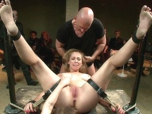 Audrey Rose enjoying punishment