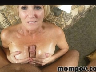 Milf with big tits is fingered by her boss in porn film