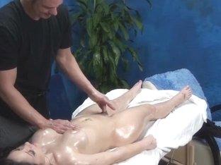 Lascivious Legal Age Teenager Receives Hidden Camera Massage!