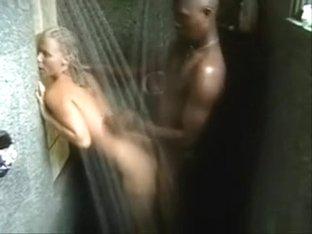 Interracial Shower