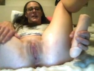 Mature I'd Like To Fuck squirting on ottoman