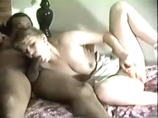 Short-haired milf gets her cunt toyed and fucked by my black buddy