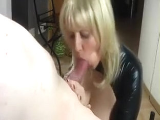 Breath-taking POV blowjob from a horny amateur milf