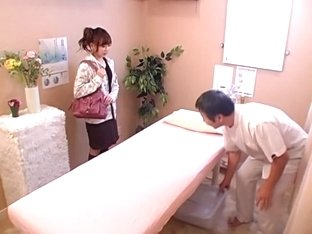 Cute babe gets banged hard in voyeur Japanese sex video
