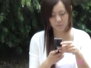 Splendid Japanese girl gets to know what sharking is